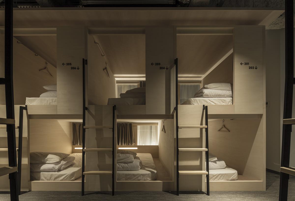 Diseño en el albergue Unplan